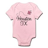 Pretty Houston Onesie