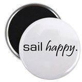 Sail Happy Magnet