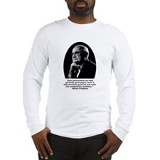 Friedman Paper Quote Long Sleeve T-Shirt
