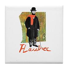 Toulouse Lautrec Tile Coaster