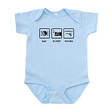 Scuba Diving Infant Bodysuit