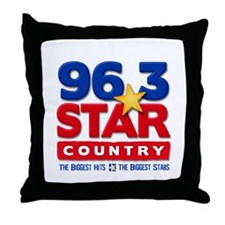 STAR COUNTRY (WMAD) Throw Pillow