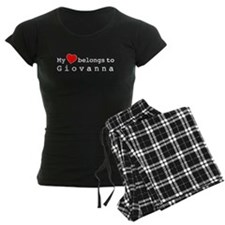 My Heart Belongs To Giovanna Pajamas