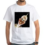 Exile In Space White T-Shirt