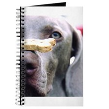 Cute Weimaraner art Journal
