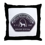 St. Louis Airport K9 Throw Pillow