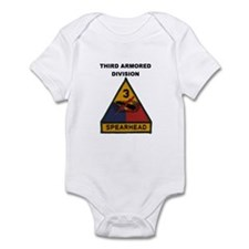 THIRD ARMORED DIVISION Infant Bodysuit