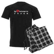 My Heart Belongs To Josue pajamas