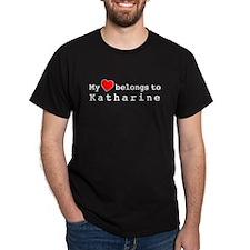 My Heart Belongs To Katharine T-Shirt
