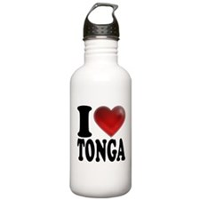 I Heart Tonga Water Bottle