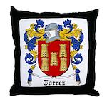 Torrez Coat of Arms Throw Pillow
