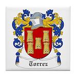 Torrez Coat of Arms Tile Coaster