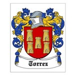 Torrez Coat of Arms Small Poster