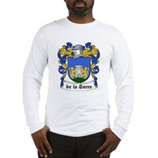De La Torre Coat of Arms Long Sleeve T-Shirt