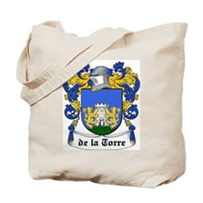 De La Torre Coat of Arms Tote Bag