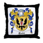 Rubi Coat of Arms Throw Pillow
