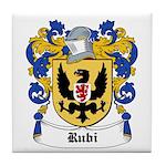 Rubi Coat of Arms Tile Coaster