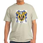 Rubi Coat of Arms Ash Grey T-Shirt
