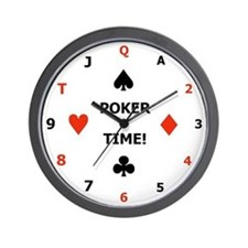 Poker time clock
