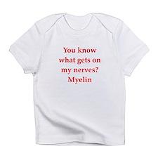 nerves Infant T-Shirt
