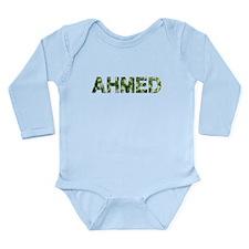 Ahmed, Vintage Camo, Long Sleeve Infant Bodysuit