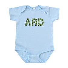 Ard, Vintage Camo, Infant Bodysuit