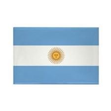 Argentina Flag Rectangle Magnet (10 pack)
