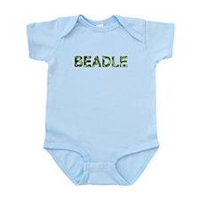 Beadle, Vintage Camo, Infant Bodysuit