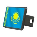 Flag of Kazakhstan Rectangular Hitch Cover
