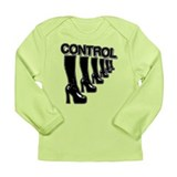 CONTROL (in high heels) Long Sleeve Infant T-Shirt