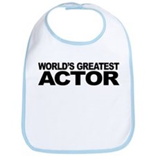 Worlds Greatest Actor Bib