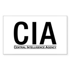 CIA Rectangle Decal