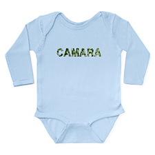 Camara, Vintage Camo, Long Sleeve Infant Bodysuit