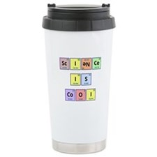 Science is Cool Ceramic Travel Mug