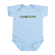 Champagne, Vintage Camo, Infant Bodysuit
