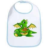 Baby Dragon and Teddy Bib