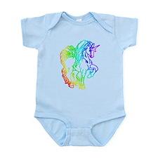 Rainbow Unicorn Infant Bodysuit