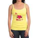 Be Mine Valentine Jr. Spaghetti Tank