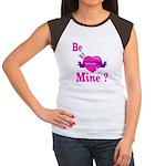 Be Mine Valentine Women's Cap Sleeve T-Shirt
