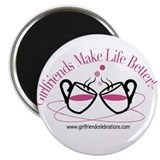 "Cute Make out 2.25"" Magnet (10 pack)"