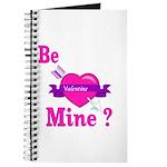 Be Mine Valentine Journal