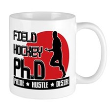 Field Hockey Ph.D Mug