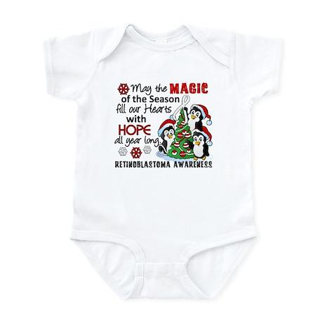 Holiday Penguins Retinoblastoma Infant Bodysuit