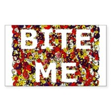 Bite Me (design) Rectangle Decal
