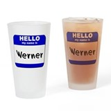 Unique Werner Drinking Glass