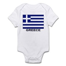 Flag of Greece Infant Bodysuit
