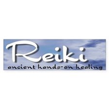 Reiki Hands-On Healing Bumper Bumper Sticker