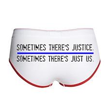 Justice Women's Boy Brief