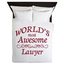 Awesome Lawyer Queen Duvet