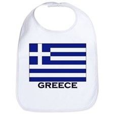 Greece Flag Gear Bib